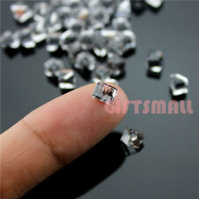 Cube Beads Glass Crystal Transparent Rhinestone 3D Nail Art Decoration for Metal