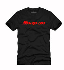 T SHIRT RACING DRIFT DRAG NASCAR SNAP ON TOOLS BLACK 002 SIZE S-4XL