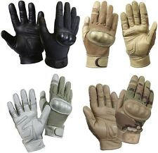 Military Police Law Enforcement Cut Resistant Hard Knuckle Tactical Gloves 3463