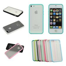 Bumper Transparent Soft Skin Back Case Cover Protector For Apple iPhone 5S 5 4G