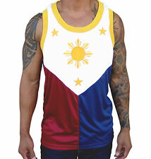 RN Filipino Flag Jersey Manny Pacquiao Shirt Philippines Rounded Neck