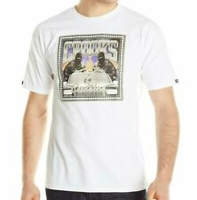 Crooks and Castles No Limit T Shirt in White (Diamond Topshelf Supply Co)
