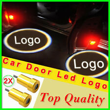 2pcs car door led logo Golden 5th 6th 7th gen Welcome light lamp courtesy ghost