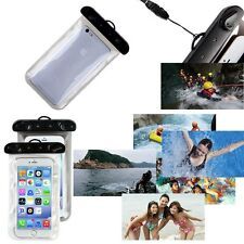 Clear Transparent Rainproof Waterproof Underwater Bag Pouch Case For Smart Phone