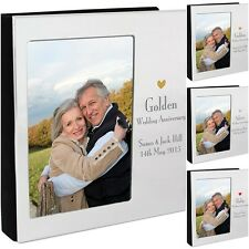 Personalised Photo Album Silver Ruby Golden Wedding Anniversary 6x4