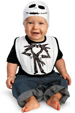 Nightmare Before Christmas Jack Skellington Bib & Hat Infant Costume
