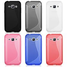 For Samsung Galaxy J1 J100F J100H J100M Soft Silicone Rubber Case Cover Back