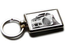 BMW 1 SERIES Koolart Quality Chrome Keyring Picture Both Sides Choose a Colour!