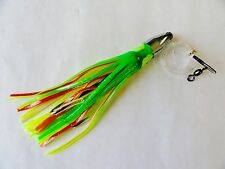 7 inch Bullet Jet Head Rigged Fishing Trolling Lures 1 Pieces -SELECT COLOR