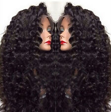 """12""""-24"""" 100% 6A Remy Human Hair Malaysian Deep Wave Lace Front/Full Lace Wigs"""