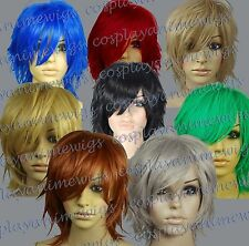 Heat Resistant Spikable Short All Color Cosplay Wigs