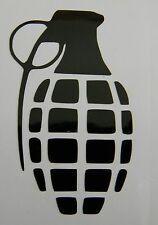Grenade Vinyl Decal Sticker Choose Color and Size