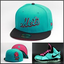 New Era New York Mets Custom Fitted Hat For Lebron 8 South Beach 11 x 9 miami