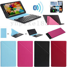 "Universal Bluetooth Keyboard + Magnetic Case For 7"" 8"" 9"" 10.1"" Inch Tablet PC"