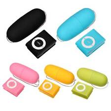 20 Frequency Waterproof Wireless Remote Control Massager Egg Vibrator MP3 Design