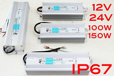 Alimentatori Strip LED IP67 power supply 100W-150W 12V-24V ALIMENTATORE AVG