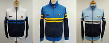 Ellesse Rimini 80s Casual Vintage Track Top, Red/City Blue/White/Yellow, S,M,L
