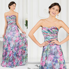 Strapless Beach Style Dress Homecoming Wedding Cocktail Prom Masquerade Dresses