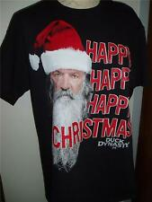 DUCK DYNASTY COMMANDER HAPPY HAPPY CHRISTMAS T SHIRT ROBERTSONS Graphic Tee