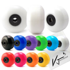 Combo 52mm 53mm 54mm Skateboard Wheels Color + Abec-7 Skateboard Bearings