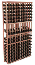 Premium Redwood Display Row Wine Cellar Kits. Seamlessly Expandable Wine Cellars