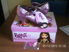 BRATZ GLITTERATE  PINK SPARKLY GIRLS SHOES