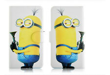 Minions Despicable me Magnetic PU Leather Flip Case Cover For Samsung Galaxy 34