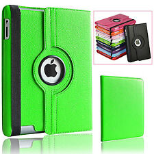 Diamond Leather 360 ° Rotation Pliant Folio stand Housse pour Apple iPad 4,3,2