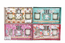 100ml pear blossom freesia fragranced room diffuser reeds & candle pots gift set