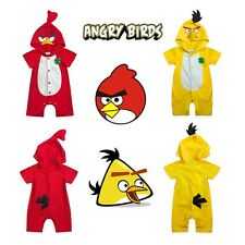 BABY & TODDLER ANGRY BIRDS COSTUME BIRTHDAY PARTY OUTFITS SUMMER SET 3-6-9-12-18