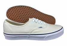 VANS. Authentic. Cream White. Black Trim. Unisex Shoe. Mens US Size 15 - 16.