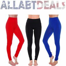 NEW Women's Full Ankle Length and Fleece Lining Seamless Leggings-More Colors