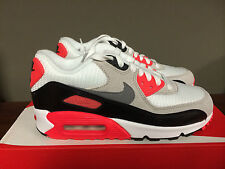 Nike Air Max 90 OG GS Wht/Infrared 724882-100 (2015) SHIPPING NOW