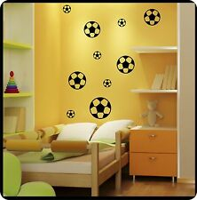Walltattoo football Sticker Wall Decal Soccer balls Football Football Sport