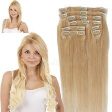 Cheap 60 613 Blonde 8Pcs/Set Long Straight Clips In Remy Human Hair Extensions