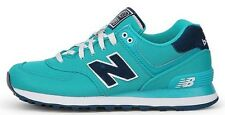 New Balance WL574POA Classic 574 Polo Pack Teal/Navy Athletic Shoes Women's Size