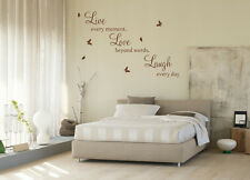 laugh everyday wall art sticker removable vinyl home decoration