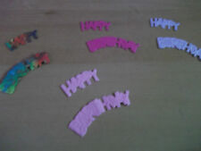 15 Happy Birthday Headers Toppers Mulberry Paper Various Colours