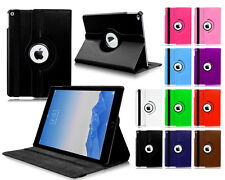 New 360° Rotate PU Premium Leather Stand Case Cover For Apple iPad Mini 1,2&3 UK