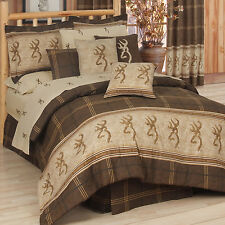 Browning Comforter Set & Sheets~Bed in Bag~Twin Full Queen King