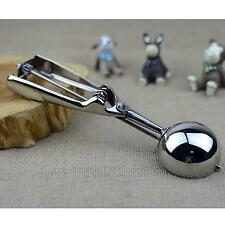 Kitchen Bar Party Tool  Stainless Steel Mash Fruits Food  Ice Cream Scoop Spoon