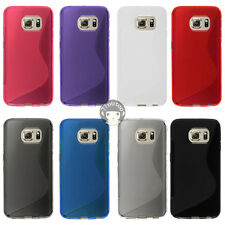 S Line Soft Gel TPU Case Cover Skin For Samsung Galaxy S6 edge G925V (Verizon)