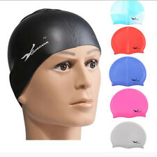 Durable Flexible Sporty Latex Swimming Swim Cap Bathing Hat Unise Colors HOT