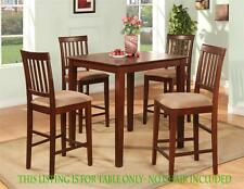 Vernon Pub, Counter Height Square Table for kitchen dining room