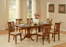 NAPO-SBR 5 PC dining room table set Dining table with a Leaf and 4 chairs for di