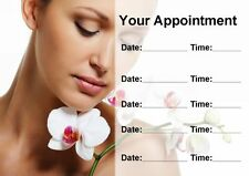 Beauty Massage Treatment Spa Salon Personalised Appointment Cards
