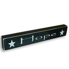 Hope Wooden Sign - Shelf Sitter - 21 Colors to Choose from!