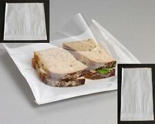 Film Front Paper Bags with Clear Cellophane Window,Sandwich bag , Takeaway