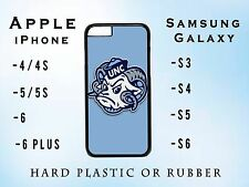 NEW UNC NC Tarheels Apple iPhone Samsung Galaxy Phone Case Hard Plastic Rubber