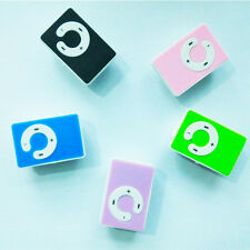 Mini 5 Colors Support Up To 8GB Clip USB MP3 Player Micro SD TF Memory Card T8